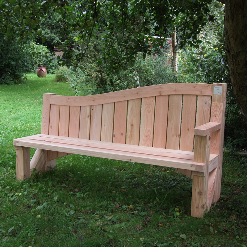 Curve-topped Northmoor Bench